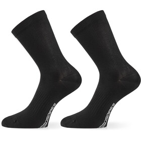 ASSOS Assosoires Essence Calcetines, black series